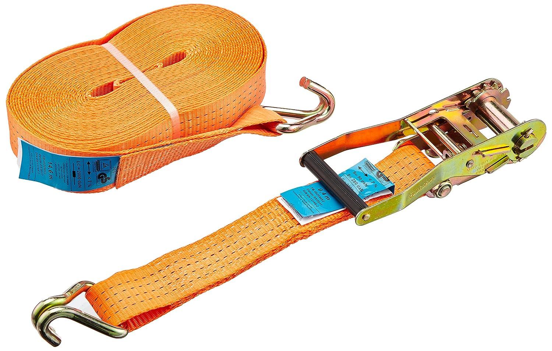 Kerbl Sangle d'Arrimage Capacité de 4000 kg pour Élevage/Agriculture Urbaine Orange 15 m x 50 mm 37160