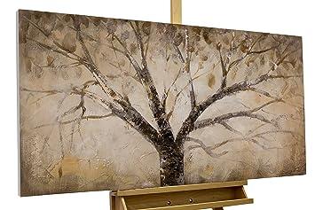 Handgemalte Bilder Auf Leinwand kunstloft acryl gemälde der weise baum 120x60cm original