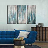 Artland Hand-Painted 'Sea of Clarity' Oil Painting
