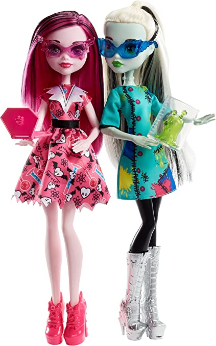 Amazon.es: Mattel Monster High - Monster High voltageous Science ...