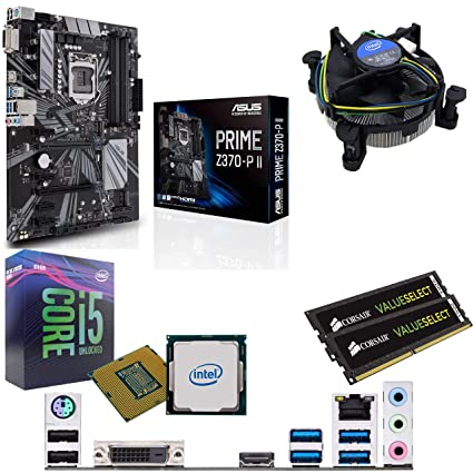 Components4All Intel Coffee Lake Core i5 9600K 3 7GHz (4 6