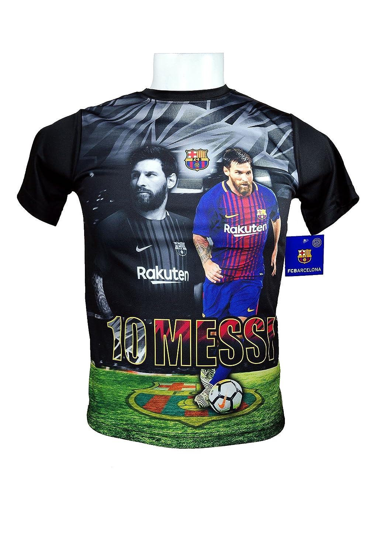 FCバルセロナメッシ10数公式ユースサッカー署名パフォーマンスPoly Jersey – yl16 Youth  B07CV5MHYW