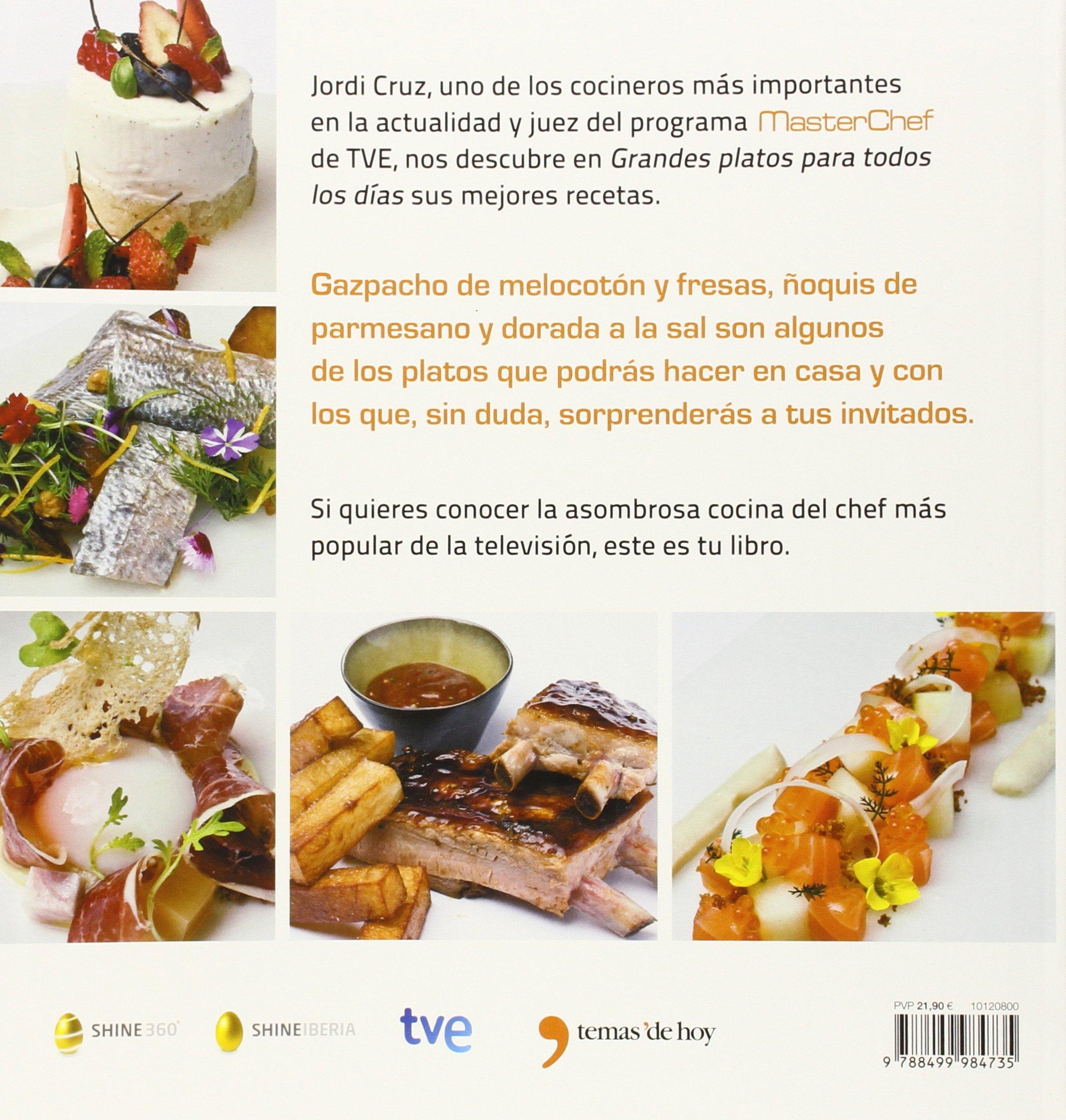 Grandes platos para todos los días (GASTRONOMÍA): Amazon.es: RTVE, Shine: Libros