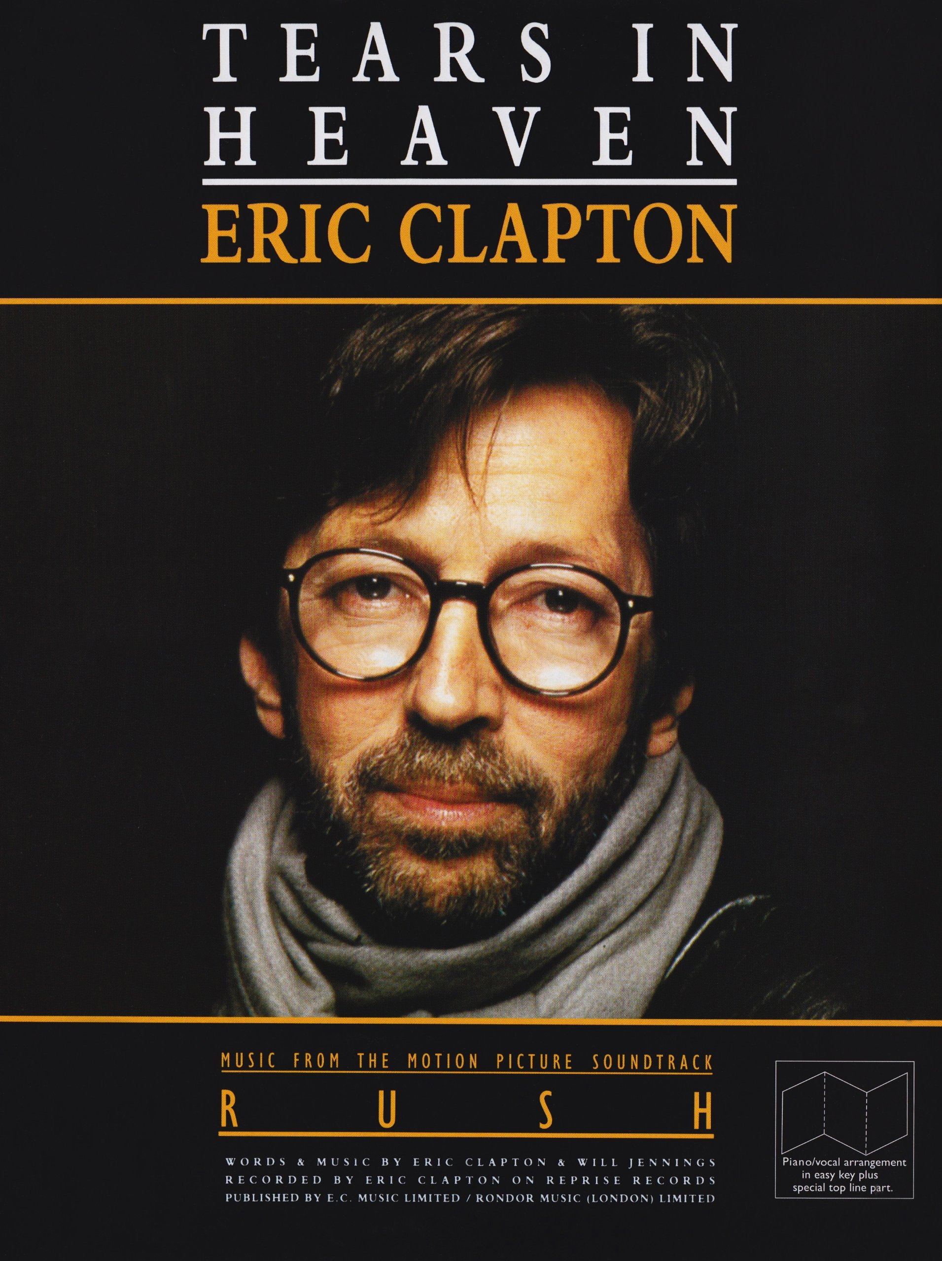 Clapton Eric Tears In Heaven Pvg: 5020679501481: Amazon com