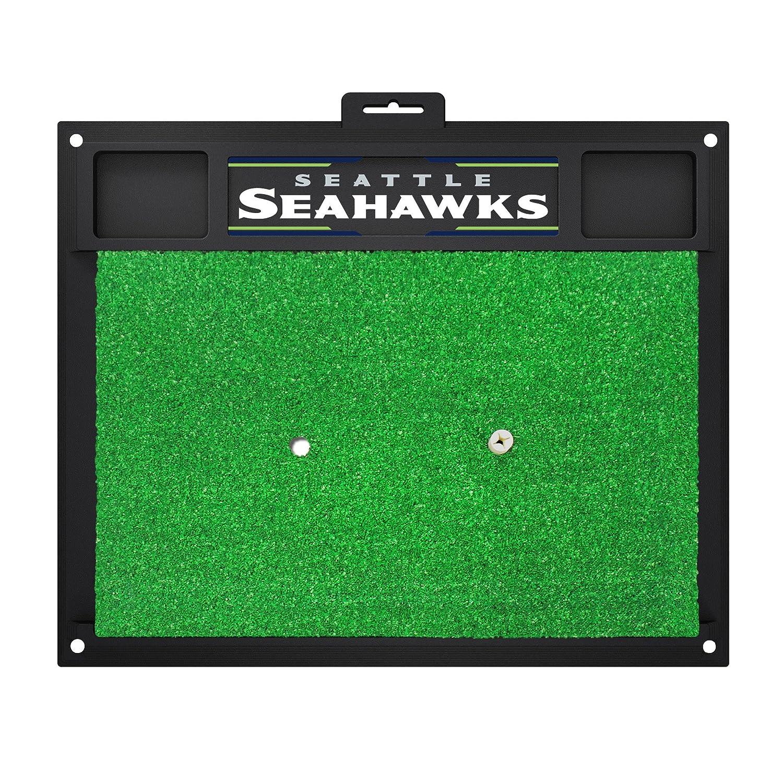 NFLシアトルシーホークスGolf Hitting Matゴルフ練習アクセサリー   B07F1W9SD5