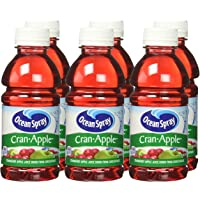 6-Pack Ocean Spray Juice Drink 10 Ounce Bottle (Cran-Apple)