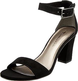 14de942f943f Tamaris 28397-20-454 HEITI Ivory Womens Heeled Sandals  Amazon.co.uk ...