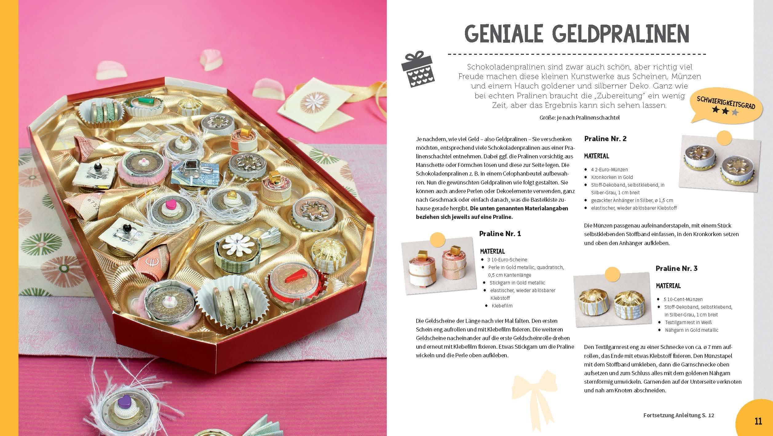 Geldgeschenke - Das große Ideenbuch: Mit Vorlagen im Buch und zum ...