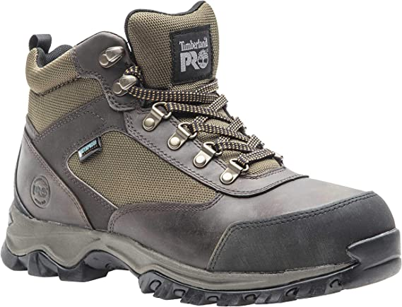 Timberland PRO Men's Keele Ridge Steel Toe Waterproof Industrial Boot