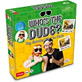Identity Games Who's The Dude Adult Charades - Use The Life Size Inflatable Dude To Act Out Up To 440 Hilarious Scenarios - Ages 16+