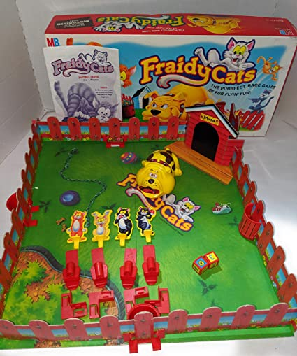 Milton Bradley Fraidy Cats Board Game