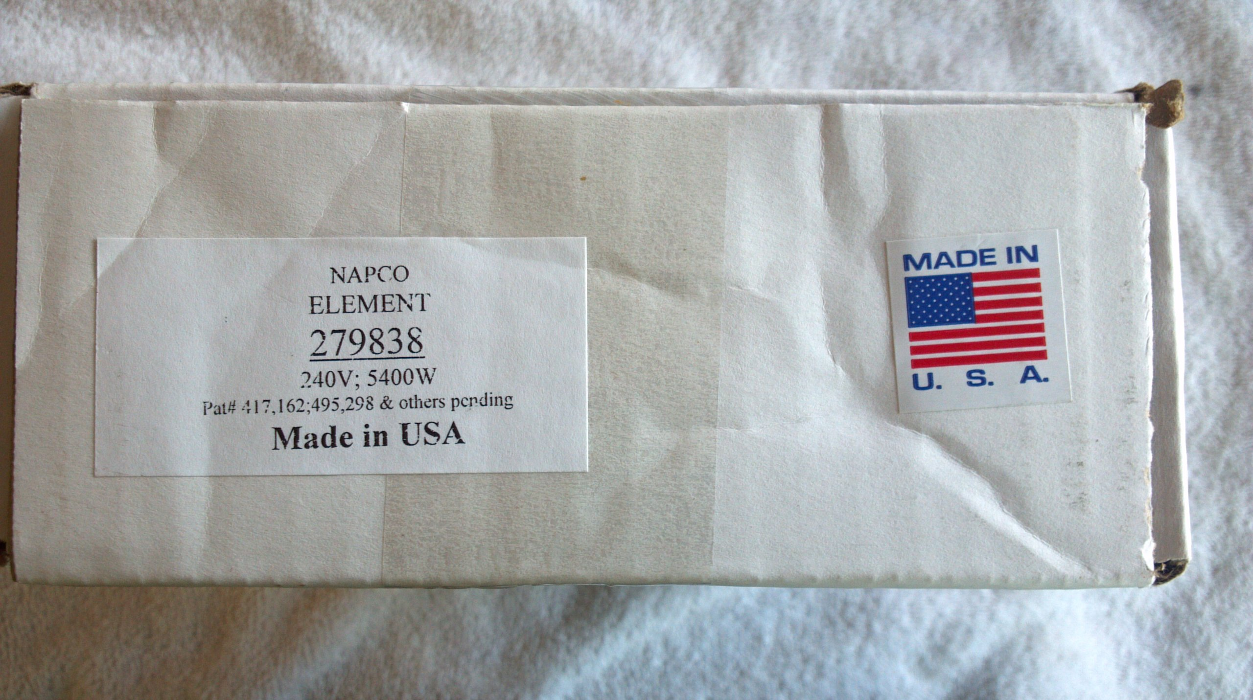 Dryer Heating Element 279838 For Whirlpool/Kenmore by Napco