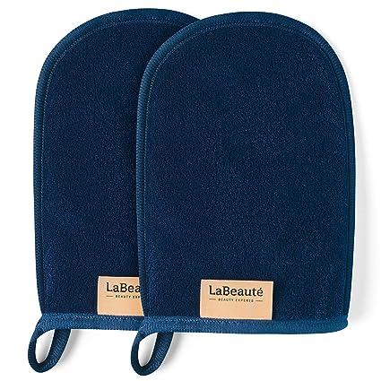 Original LaBeauté – Paño de desmaquillado, limpieza facial y paño desmaquillante, lavable y reutilizable