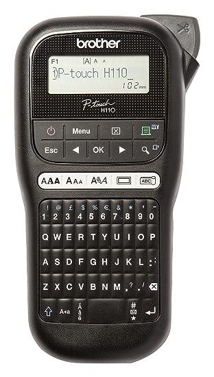 Brother PTH110 - Rotuladora electrónica de mano con diseño ...