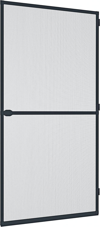 Windhager Tensor Plus, mosquitera Marco de Aluminio para Puertas, acortable Individualmente, 100 x 210 cm, Antracita, 03709, anthracite: Amazon.es: Jardín