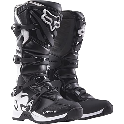 Fox Racing Comp 5 Men's Off-Road Motorcycle Boots - Black / Size 10
