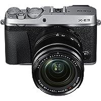 Fujifilm X-E3 24.3MP Mirrorless Digital Camera with 3x Optical Zoom (Black and Silver)