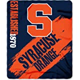 "Northwest NOR-1COL031020040RET 50 x 60"" Syracuse Orangemen NCAA Light Weight Fleece Blanket, Painted Series"