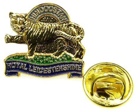 Royal Leicestershire Regiment Lapel Pin Badge