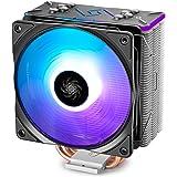 DEEPCOOL RGB CPU Cooler 4 Heat pipes 120mm RGB Fan Universal Socket Solution (GAMMAXX GT BK)