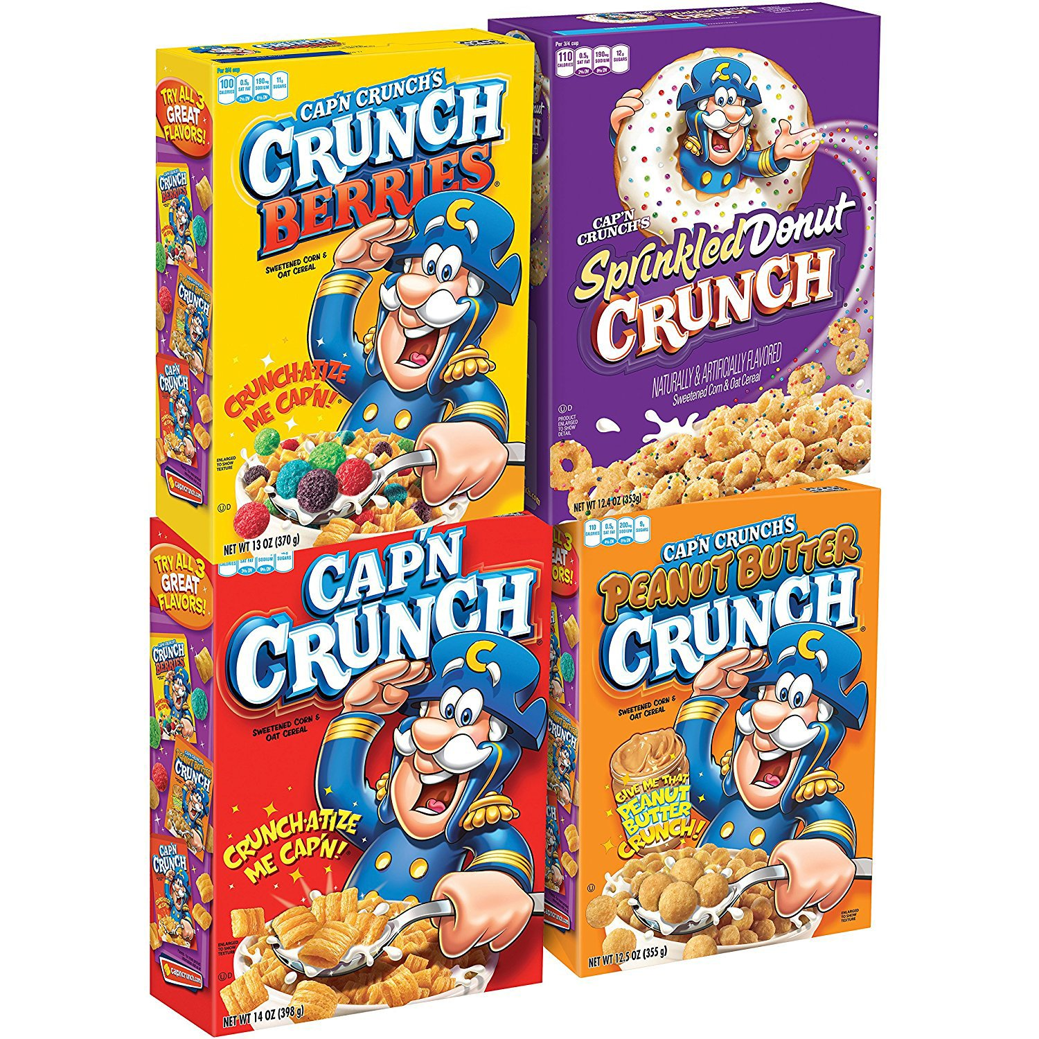 Amazon.com: Cap'n Crunch's Christmas Crunch Cereal