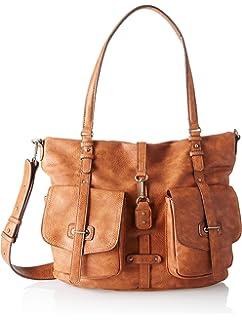 Damen Bernadette Shopping Bag Henkeltasche, Beige (Pepper), 12x30x36 cm Tamaris