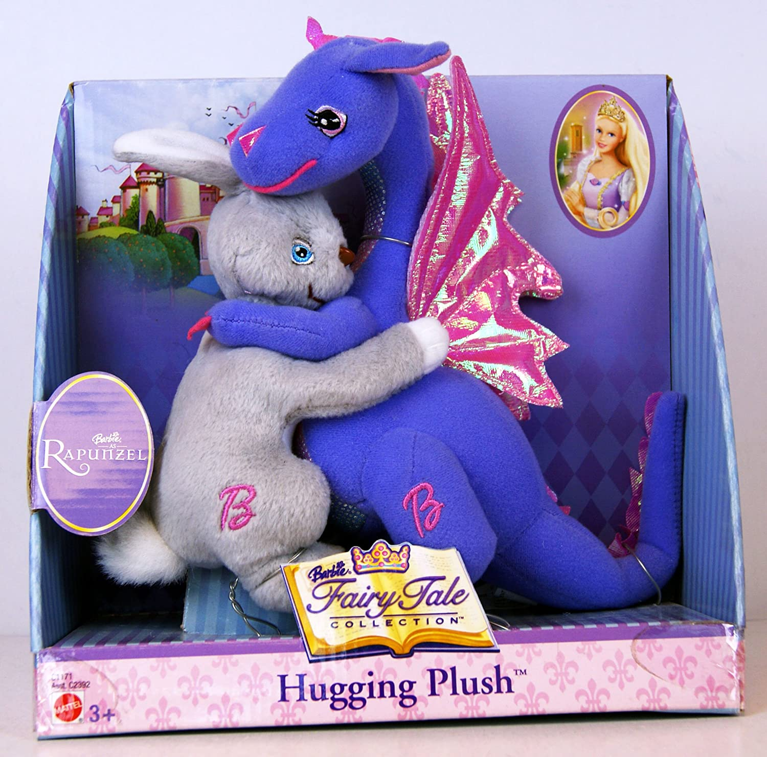 big sale high quality order Barbie as Rapunzel - Fairy Tale Collection - Hugging Plush ...