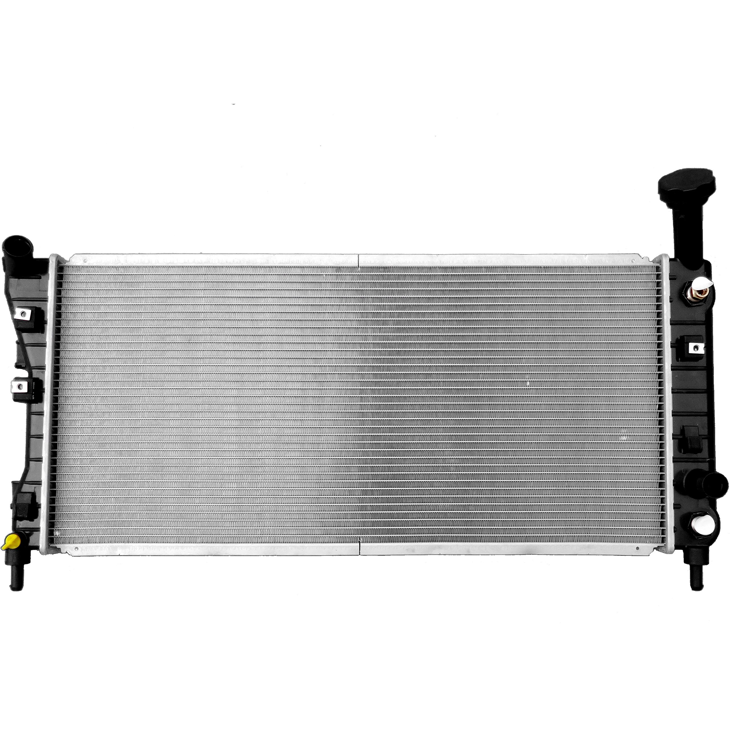 SCITOO 2710 Radiator fits 2005-2009 Buick Allure CX/CXL/CXS Sedan 4-Door 3.6L 3.8L Buick LaCrosse CX/CXL Sedan 4-Door 3.8L