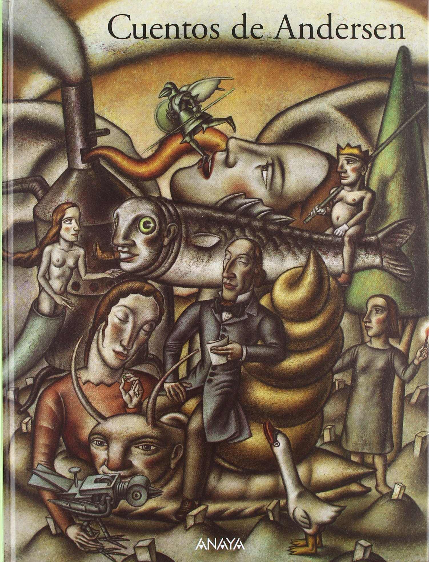Cuentos de Andersen/ Tales of Andersen (Spanish Edition): Hans Christian Andersen, Javier Serrano, Gustavo Martin Garzo: 9788420792651: Amazon.com: Books