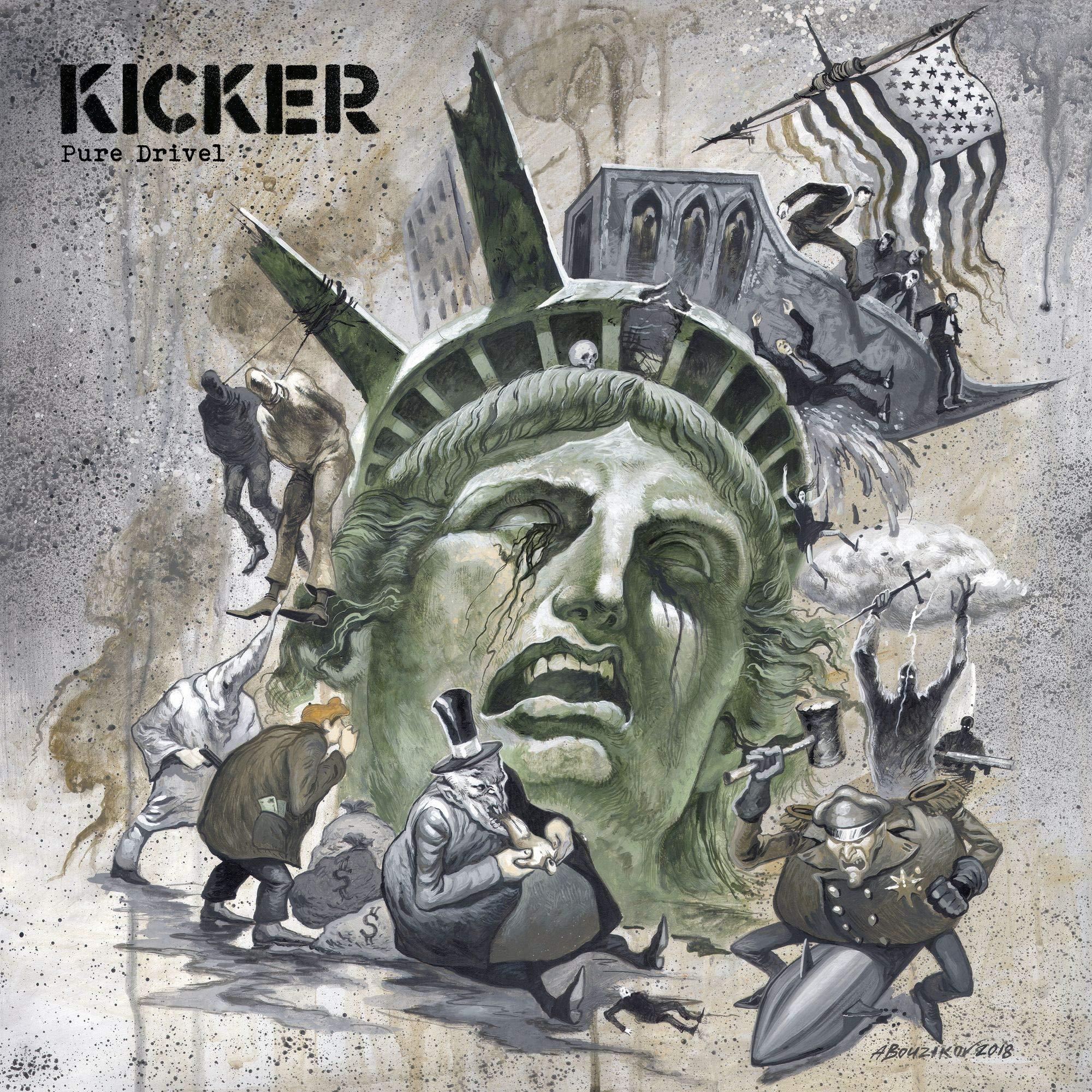 Vinilo : Kicker - Pure Drivel (LP Vinyl)