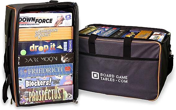 Bolsa de Juego de Mesa – [Mochila/Correa de Hombro/Bolsa de Equipaje] – Funda Acolchada para Juego de Mesa (Gris Oxford): Amazon.es: Juguetes y juegos