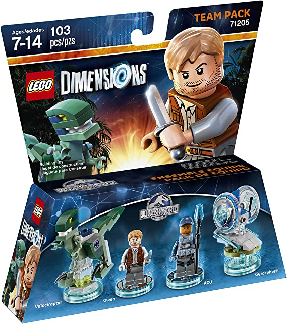Jurassic World Team Pack - LEGO Dimensions by Warner Home Video ...