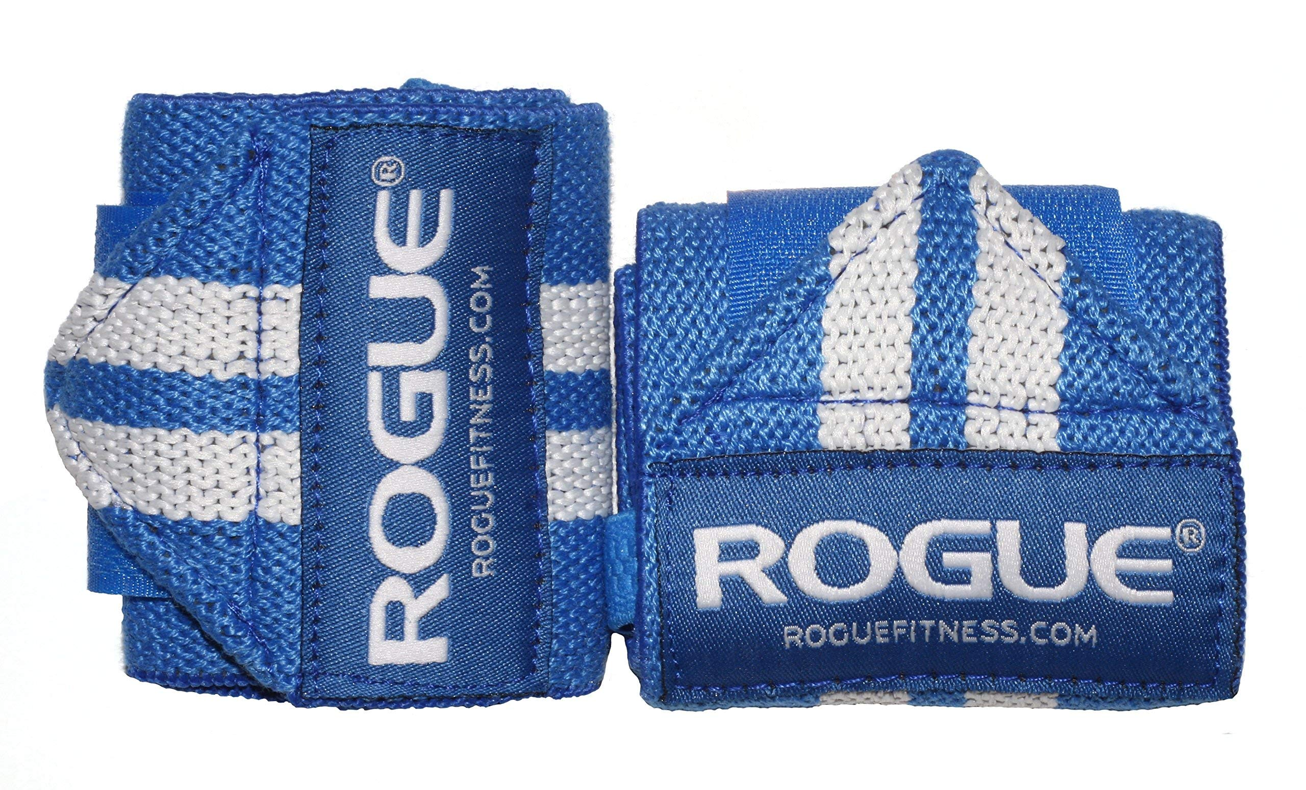 Rogue Fitness Wrist Wraps | Available in Multiple Colors (Blue, 12'') by ROGUE FITNESS