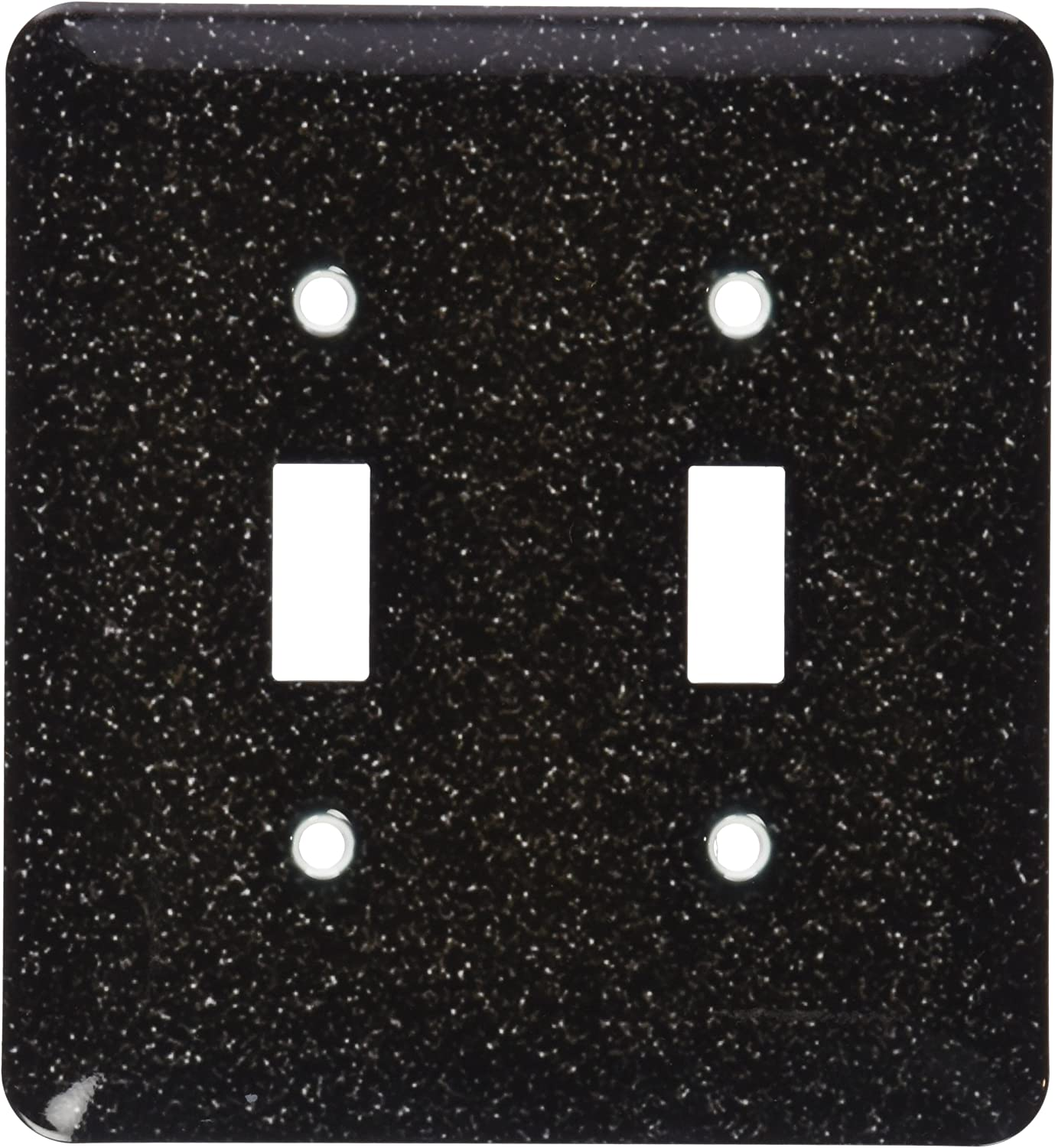 3dRose lsp/_182589/_1 Print of Deep Red Purple Shiny Glitter Light Switch Cover 3D Rose Home Improvement