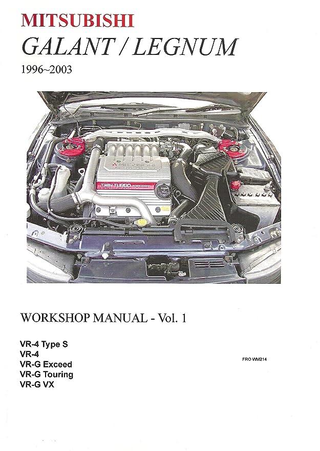 mitsubishi galant legnum 1996 2003 workshop manual 2 volumes rh amazon co uk mitsubishi galant workshop manual download 2011 Mitsubishi Galant Service Manual