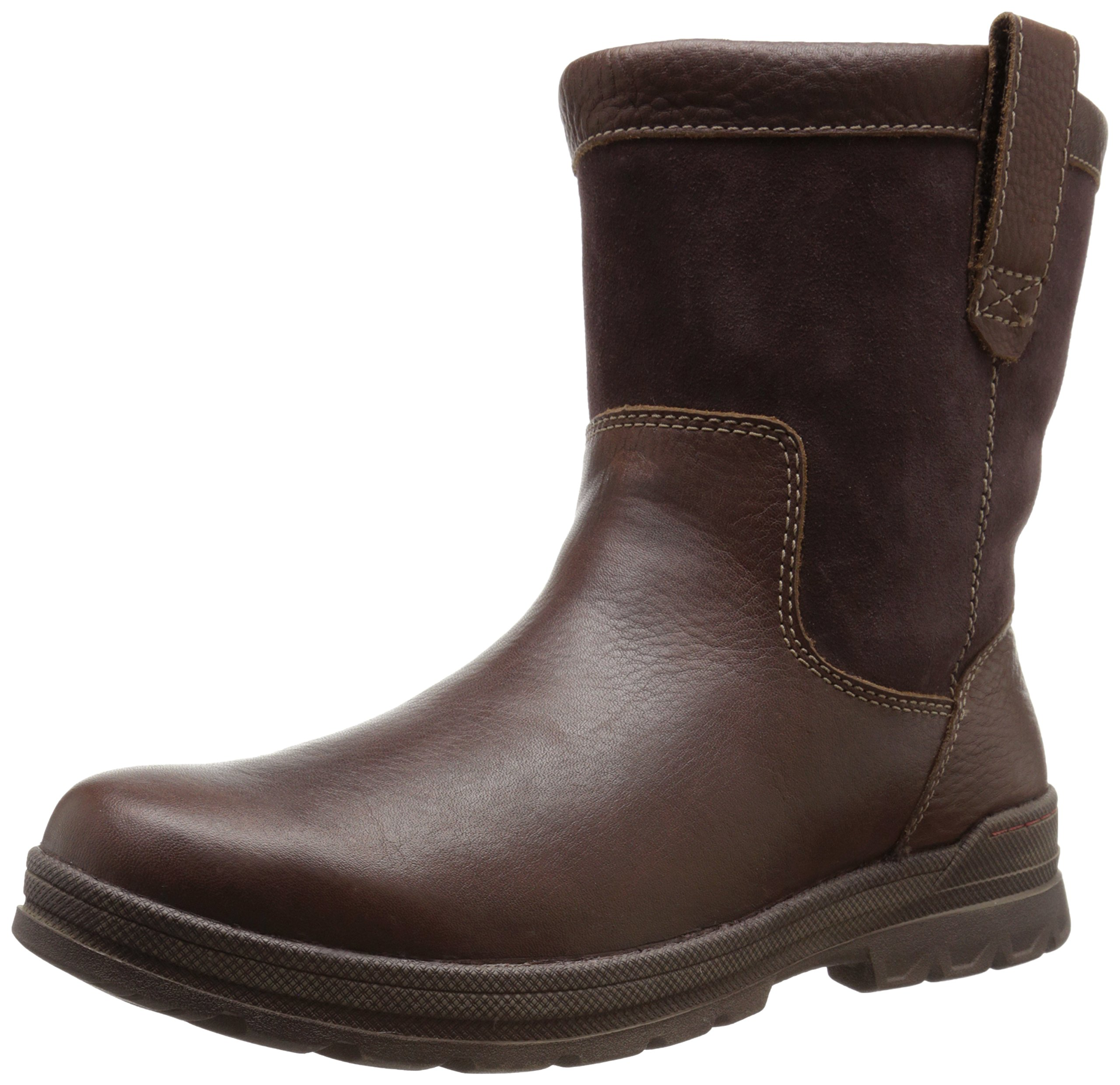 CLARKS Men's Ryerson Peak Winter Boot, Brown Tumble, 9 M US by CLARKS