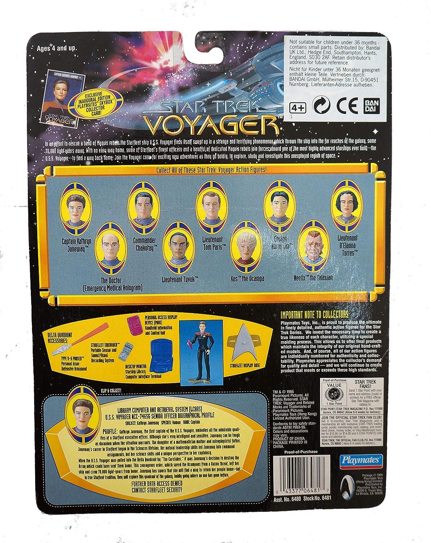 Star Trek Voyager Captain Kathryn Janeway Playmates 6480