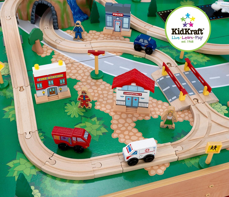 kidkraft  waterfall mountain train set and table race tracks  - kidkraft  waterfall mountain train set and table race tracks  amazoncanada