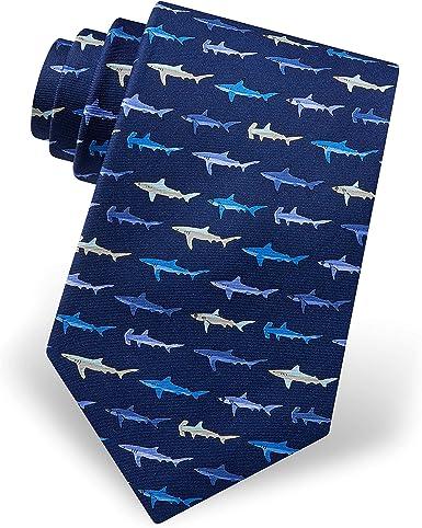 Details about  /Shark Ties Men Ocean Animal Necktie