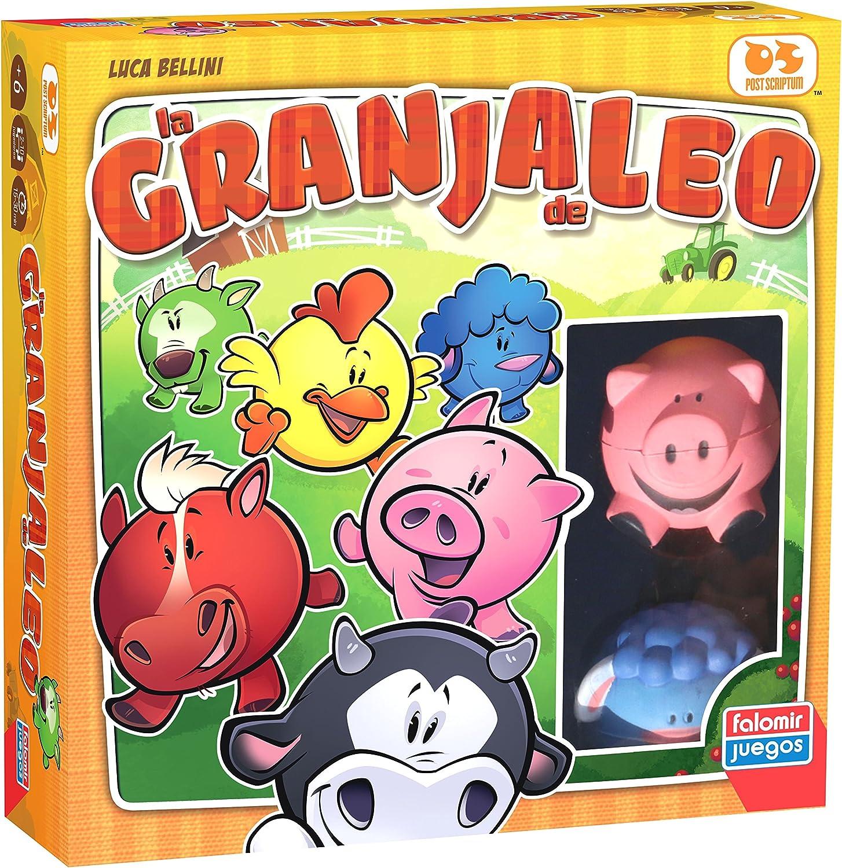 Falomir Granjaleo, Juego de Mesa, Infantil (27572): Amazon.es: Juguetes y juegos
