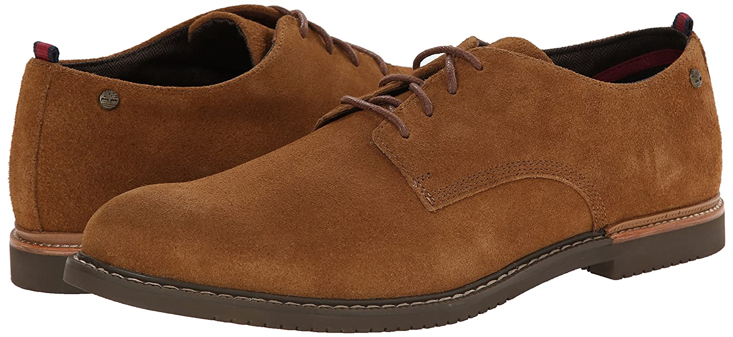 Timberland Earthkeepers Brook Park Oxford Shoes Dark Brown Suede For Men