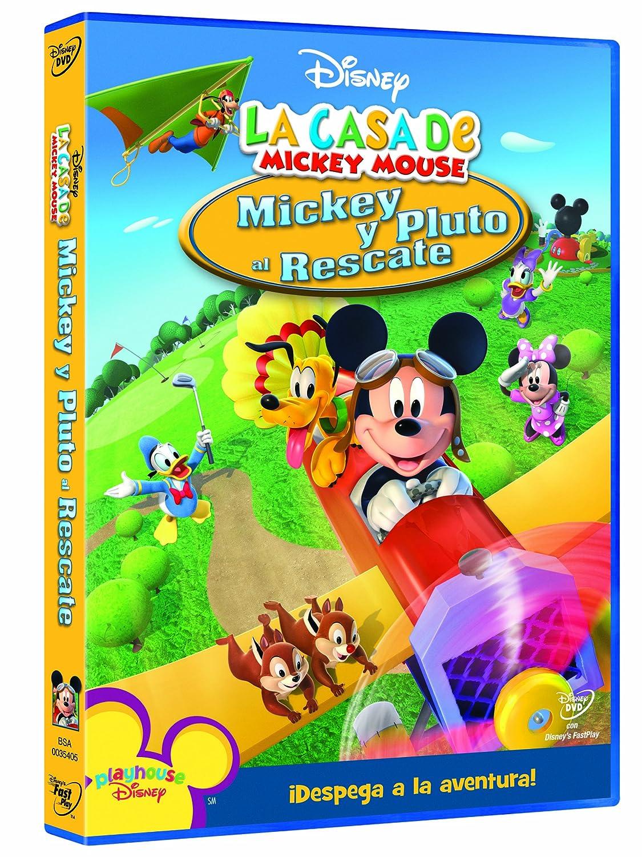 Mickey y Pluto al rescate [DVD]: Amazon.es: Sherie Pollac, Rob Laduca: Cine y Series TV