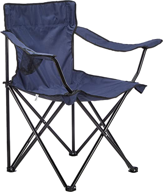 Papillon 8043410 Silla Playa Metal Pescador Plegable Azul: Amazon ...