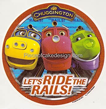 14 Sheet Chuggington Lets Ride The Rails Group Birthday Edible