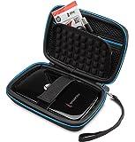 Supremery Tasche für HP Sprocket Plus Mobiler Fotodrucker Case Schutz-Hülle Etui Tragetasche