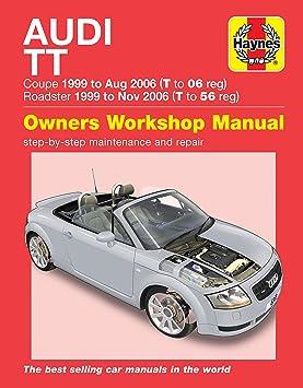 Manual de reparación de Haynes para Audi TT, años 1999 – 2006 (podría no estar en español).: Amazon.es: Coche y moto