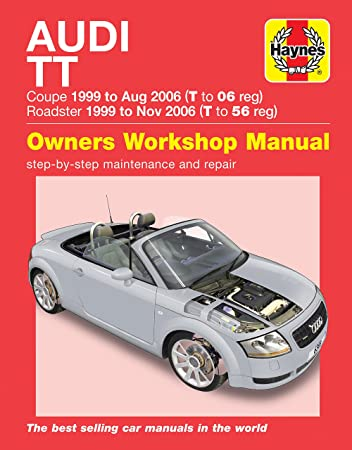 audi tt repair manual haynes manual service manual workshop manual rh amazon co uk Audi TT Service Manual Haynes Shop Manual Audi TT