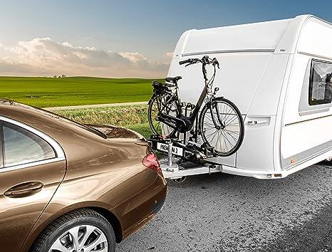 Las11405 - Adaptador de montaje de soporte para bicicletas en barra de remolque: Amazon.es: Coche y moto