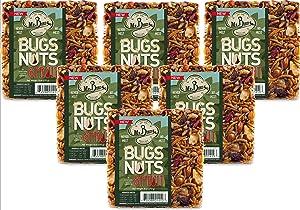 Mr. Bird 6-Pack Bugs, Nuts, & Fruit Small Wild Bird Seed Cake 6 oz.