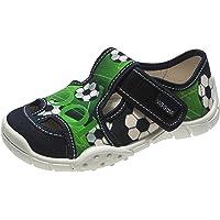 Viggami Ragazzo Pantofola con Chiusura in Velcro Adas